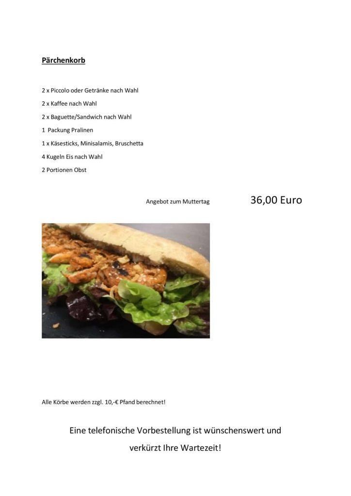 Picknick auf dem Burgberg Posterstein - Picknickkörbe ausleihen